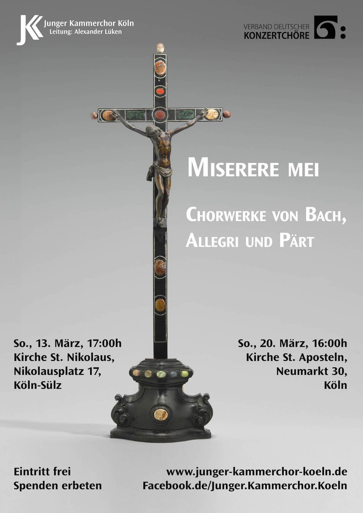 Miserere Mei 2015 - Plakat